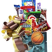 Sport Lover's Snack Basket
